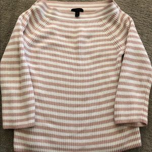 JCrew striped Xsmall knit sweater